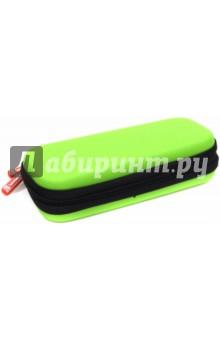 Пенал на молнии (21х8,5х4,5 см, зеленый) (49100-52)Пеналы секционные<br>Пенал на молнии. <br>3 отделения для ручек<br>1 карман для мелочей<br>Размер: 21х8,5х4,5 см.<br>Цвет: зеленый.<br>Материал: этиленвинилацетат<br>Поставляется без наполнения.<br>