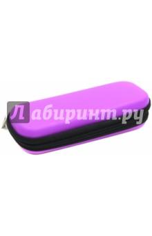 Пенал на молнии (21х8,5х4,5 см, фиолетовый) (49100-60)Пеналы секционные<br>Пенал на молнии. <br>3 отделения для ручек<br>1 карман для мелочей<br>Размер: 21х8,5х4,5 см.<br>Цвет: фиолетовый.<br>Материал: этиленвинилацетат<br>Поставляется без наполнения.<br>