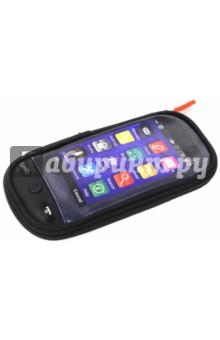 Пенал Смартфон, 20х9,5х2,5см (49022-02)Пеналы секционные<br>Пенал на молнии. <br>5 отделения для ручек<br>1 карман для мелочей<br>Размер: 20х9,5х2,5 см.<br>Поставляется без наполнения.<br>