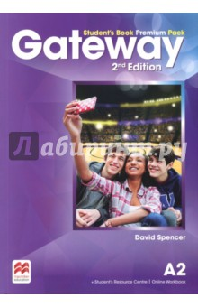 Gateway A2. Students Book Premium PackАнглийский язык<br>The Student s Book Premium Pack contains the print Student s Book with a strong exams focus and exams task familiarisation throughout the Student s Book. Access code to the Online Workbook and the Student s Resource Centre which includes the Class audio, Workbook audio, Life skills and Flipped classroom videos and a downloadable Macmillan Reader.<br>