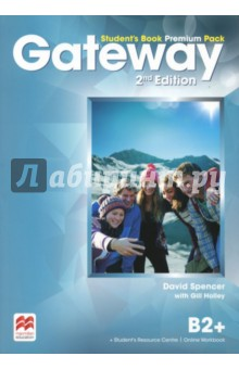 Gateway. B2+. Student s Book Premium PackАнглийский язык<br>The Student s Book Premium Pack contains the print Student s Book with a strong exams focus and exams task familiarisation throughout the Student s Book. Access code to the Online Workbook and the Student s Resource Centre which includes the Class audio, Workbook audio, Life skills and Flipped classroom videos and a downloadable Macmillan Reader.<br>