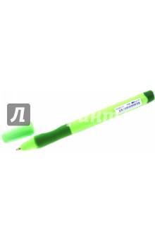 Ручка шар. Left Right для правшей синяя (142122)Ручки шариковые простые<br>Ручка шариковая STABILO Left Right для правшей,корпус зеленый, толщина письма 0,45мм ,синяя.<br>