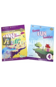 Fun for Movers. Students Book with Online Activities with Audio and Home Fun Booklet 4Изучение иностранного языка<br>Fourth edition of the full-colour Cambridge English: Young Learners (YLE) preparation activities for all three levels of the test (Starters, Movers, Flyers) updated to reflect the new revised specifications which will be out in January 2018. <br>Fun for Movers Student s Book provides full-colour preparation for Cambridge English: Movers. Fun activities balanced with exam-style questions practise all the areas of the syllabus in a communicative way and support young learners in the areas they find most difficult. Listening material to accompany the Student s Book is available online for download or as a separate Audio CD. Grammar and vocabulary activities get students practising online in their own time via an access code in the book. The Home Fun Booklet allows students to practice vocabulary at home.<br>