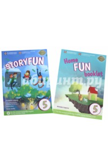 Storyfun (2nd Edition - 2018 Exam) 5 (Flyers 1) Students Book with Online Activities &amp; Home Fun BooИзучение иностранного языка<br>Enjoyable and engaging practice for the revised 2018 Cambridge English: Young Learners (YLE). <br><br>Now in 6 levels with two books per test. Each book contains eight fully-illustrated stories followed by fun activities, songs and exam-style questions that practise the grammar, vocabulary and skills needed at each level. Now includes Home Fun Booklet which provides activities for students to complete at home, and allows parents to support learning. Each level provides 15 teaching hours of content, extendable to 30. Storyfun is ideal as a set of readers to accompany any general English primary course.<br>Key Features:<br>- Extra speaking practice and projects provide opportunities for extension beyond the units.<br>- Audio recordings of all the stories and activities are available as an online download for teachers.<br>- Teacher s Book includes extra photocopiable materials and a summary of the main grammar and vocabulary points covered in each story.<br>