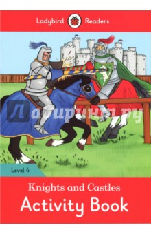 Knights and Castles Activity BookИзучение иностранного языка<br>About 1,000 years ago, there were men called knights. They lived in castles. It took many years to become a knight! Ladybird Readers is a graded reading series of traditional tales, popular characters, modern stories, and non-fiction, written for young learners of English as a foreign or second language. Beautifully illustrated and carefully written, the series combines the best of Ladybird content with the structured language progression that will help children develop their reading, writing, speaking, listening and critical thinking skills. The five levels of Readers and Activity Books follow the CEFR framework and include language activities that provide preparation for the Cambridge English: Young Learners (YLE) Starters, Movers and Flyers exams. Knights and Castles, a Level 4 Activity Book, is A2 in the CEFR framework and supports YLE Flyers exams. The activities encourage children to practice longer sentences with up to three clauses, more complex past and future tense structures, modal verbs and a wider variety of conjunctions.<br>