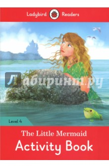 The Little Mermaid Activity Book. Ladybird Readers. Level 4Изучение иностранного языка<br>The little mermaid loved a young prince, but he could not marry her. Can the magic woman of the ocean help the little mermaid? Ladybird Readers is a graded reading series of traditional tales, popular characters, modern stories, and non-fiction, written for young learners of English as a foreign or second language.Beautifully illustrated and carefully written, the series combines the best of Ladybird content with the structured language progression that will help children develop their reading, writing, speaking, listening and critical thinking skills.The five levels of Readers and Activity Books follow the CEFR framework and include language activities that provide preparation for the Cambridge English: Young Learners (YLE) Starters, Movers and Flyers exams.The Little Mermaid, a Level 4 Activity Book, is A2 in the CEFR framework and supports YLE Flyers exams. The activities encourage children to practice longer sentences with up to three clauses, more complex past and future tense structures, modal verbs and a wider variety of conjunctions.<br>