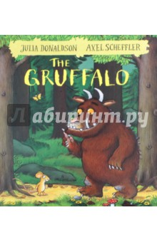 The GruffaloЛитература на иностранном языке для детей<br>A mouse took a stroll through the deep dark wood. A fox saw the mouse and the mouse looked good. Walk further into the deep dark wood, and discover what happens when a quick-witted mouse comes face to face with an owl, a snake . . . and a hungry Gruffalo! Julia Donaldson and Axel Scheffler s The Gruffalo is an undisputed modern classic and has become a best-selling phenomenon across the world with over 13.5 million copies sold. This award-winning rhyming story of a mouse and a monster has found its way into the hearts and bedtimes of an entire generation of children and will undoubtedly continue to enchant children for years and years to come. No home should be without The Gruffalo! This edition features the classic story with a stunning redesigned cover and beautiful finish, making it a must-have addition to the bookshelves of all Donaldson and Scheffler fans - big and small! Also available with redesigned covers are The Gruffalo s Child, Room on the Broom, The Snail and the Whale, The Smartest Giant in Town, Monkey Puzzle, Charlie Cook s Favourite Book, and A Squash and a Squeeze.<br>