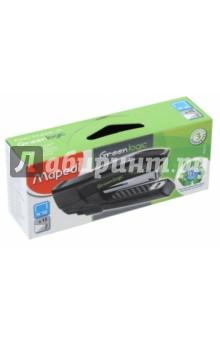 Степлер Greenlogic Pocket (№10, на 15 листов, черный) (353211)Степлеры<br>Степлер карманный пластиковый.<br>С встроенным антистеплером.<br>На 15 листов.<br>Скобы № 10.<br>Цвет: черный.<br>Сделано в Китае.<br>