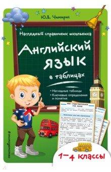 Английский язык в таблицах. 1-4 классыАнглийский язык. 1 класс<br>Основная цель справочника, соответствующего требованиям ФГОС, - обобщить и систематизировать учебный материал, закрепить и усовершенствовать знания младших школьников.  <br>Книга включает в себя множество таблиц по основным темам школьной программы. Благодаря наглядной и доступной форме подачи материала ученики смогут быстро и легко найти необходимую им информацию.<br>Издание предназначено для учащихся начальных классов, родителей, педагогов и рассчитано как для работы на уроке, так и для домашнего пользования.<br>