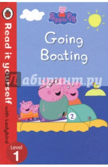 Peppa Pig. Going BoatingЛитература на иностранном языке для детей<br>Peppa is going boating with her family. Find out who else goes with them, and who is the best at boating!Read it yourself with Ladybird is one of Ladybird s best-selling reading series. For over thirty-five years it has helped young children who are learning to read develop and improve their reading skills.Each Read it yourself book is very carefully written to include many key, high-frequency words that are vital for learning to read, as well as a limited number of story words that are introduced and practised throughout. Simple sentences and frequently repeated words help to build the confidence of beginner readers and the four different levels of books support children all the way from very first reading practice through to independent, fluent reading.There are more than ninety titles in the Read it yourself series, ranging from classic fairy tales and traditional world stories to favourite children s brands such as Peppa Pig, Kung Fu Panda and Peter Rabbit. A range of first reference titles complete the series, with information books about favourite subjects that even the most reluctant readers will enjoy.Each book has been carefully checked by educational consultants and can be read independently at home or used in a guided reading session at school. Further content includes comprehension questions or puzzles, helpful notes for parents, carers and teachers, and book band information for use in schools.Peppa Pig: Going Boating is a Level 1 Read it yourself book, suitable for very early readers who are ready to take their first steps in reading real stories. Each simple story uses a small number of frequently repeated words.<br>