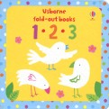 123. Fold out board book