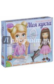 Набор для творчества. Моя кукла! (брюнетка) (1409ВВ/0022)Изготовление мягкой игрушки<br>Куклы - это первые подружки каждой девочки. С этим набором ты сможешь создать свою уникальную, авторскую куклу и научишься шить самые разные наряды для нее. Все необходимое ты найдешь в наборе! Аккуратно пришей к заготовке куклы волосы, создай прическу на свой вкус, прорисуй черты лица и скорее приступай к изготовлению нарядов! Следуя инструкции и выкройкам, ты сошьешь яркий сарафан, пышную юбку-пачку, джинсовую жилетку, футболку, теплую кофточку и разнообразные аксессуары! Ты сможешь создать кукол с тремя различными цветами волос: блондинку, брюнетку и рыжую. А также их любимые игрушки и домашних питомцев. Не забудь придумать им имена!<br>Состав набора: подробная инструкция, туловище куклы с принтом лица, выкройки одежды и аксессуаров, материалы для создания одежды, прически и аксессуаров, цветные карандаши (прорисовка лица), игла, нить.<br>Для детей старше 6-ти лет.<br>Не рекомендуется детям до 3-х лет. Содержит мелкие детали.<br>Сделано в Китае.<br>