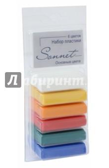 Пластика Сонет (6 цветов, 120 г) (59103592)Лепим из пасты<br>Пластика Сонет предназначена для лепки и моделирования.<br>С помощью полимерной глины можно создавать необычные аксессуары и бижутерию своими руками.<br>В наборе 6 основных цветов.<br>Масса нетто 120 г.<br>Сделано в России.<br>
