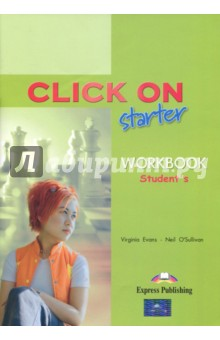 Click On Starter. Students WorkbookАнглийский язык<br>Click Оn: Starter is a modular secondary-level course for young learners. The course combines active English learning with a variety of lively topics presented in themed units. Key features: <br>three modules of two units each, with - a consolidation section at the end of each unit - a self-assessment test at the end of each module,<br>realistic, stimulating dialogues featuring people in everyday situations,<br>development of vocabulary and grammar skills through integrated tasks,<br>clear presentation and thorough practice of the target language,<br>wide variety of listening practice,<br>writing sections containing models and guided practice,<br>variety of stimulating and interesting texts,<br>pronunciation and communication sections,<br>games, songs and pairwork activities,<br>consolidation sections at the end of each unit,<br>fully dramatised cassettes and audio CDs.<br>