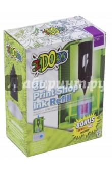 Картридж для 3D Пресс-машины Вертикаль, пурпурный (164084)Сопутствующие товары для детского творчества<br>Сменный картридж для 3D Пресс-машины Вертикаль.<br>Будет хорошим дополнением к набору 3D Пресс-машины Вертикаль.<br>Комбинируйте картриджи разного цвета, чтобы создать многоцветный объёмный рисунок или поделку. После использования всей пасты из картриджа, его можно заменить на новый (продается отдельно, цвета в ассортименте).<br>Цвет: пурпурный.<br>В наборе: картридж, полимер формулы 4D для изготовления собственных изделий.<br>Для детей от 8-ми лет.<br>Не рекомендуется детям до 3-х лет. Содержит мелкие детали.<br>Сделано в Китае.<br>