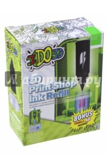 Картридж для 3D Пресс-машины Вертикаль, зеленый (164086)Сопутствующие товары для детского творчества<br>Сменный картридж для 3D Пресс-машины Вертикаль.<br>Будет хорошим дополнением к набору 3D Пресс-машины Вертикаль.<br>Комбинируйте картриджи разного цвета, чтобы создать многоцветный объёмный рисунок или поделку. После использования всей пасты из картриджа, его можно заменить на новый (продается отдельно, цвета в ассортименте).<br>Цвет: зеленый.<br>В наборе: картридж, полимер формулы 4D для изготовления собственных изделий.<br>Для детей от 8-ми лет.<br>Не рекомендуется детям до 3-х лет. Содержит мелкие детали.<br>Сделано в Китае.<br>