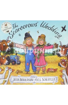 The Scarecrows WeddingЛитература на иностранном языке для детей<br>THE SCARECROWS  WEDDING is the eagerly awaited new picture book from the creators of THE GRUFFALO and STICK MAN. Written in Julia Donaldson s glorious rhyme and illustrated in glowing colour by Axel Scheffler, THE SCARECROWS  WEDDING is a fabulous love story, with drama, humour, originality - and a happy ending! Two scarecrows, Betty O Barley and Harry O Hay, are planning the perfect wedding. But wicked scarecrow, Reginald Rake, has other ideas and almost ruins their special day. Harry must become a hero before he and Betty can have the wedding of their dreams.<br>