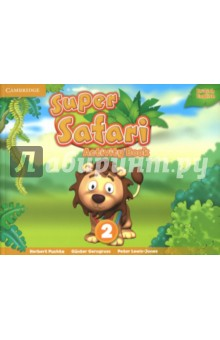 Super Safari 2. Activity BookИзучение иностранного языка<br>Super Safari fun continues with the Activity Book Level 2. There are more songs for children to enjoy, engaging TPR activities, fascinating stories and projects at the end of each unit. The exercises develop creativity, encourage cross-curricular thinking while lively stories explore social values. For each page of Pupil s Book 2, Activity Book 2 features a page of activities. And there is plenty of fun for children to enjoy with parents at home. Includes colourful mini picture cards and fun cut-out masks!<br>