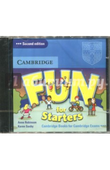 Fun for Starters (CD)Аудиокурсы. Английский язык<br>Fun for Starters. Audio CD.<br>Duration: 79 min.<br>2nd Edition.<br>