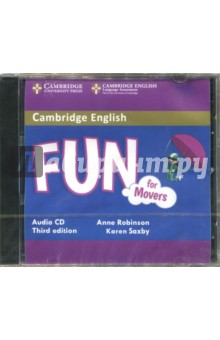 Fun for Movers (CD)Аудиокурсы. Английский язык<br>Fun for Movers. Audio CD.<br>3rd Edition.<br>