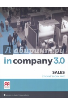 In Company 3.0. Sales. Students PackАнглийский язык<br>In Company 3.0 now offers new ESP modules for business professionals who require tailored content for their specialist areas. These new titles incorporate the highly popular, tried-and tested communicative approach of the In Company series along with the functional language and vocabulary that students need. The process-oriented syllabus is based around key tasks learners need to accomplish at work, as well as skills-based work to build confidence. The modules can be used flexibly: in conjunction with In Company 3.0, with other titles, or alone as a short course.<br>For Teachers:<br>- Flexible, light package of specialist short modules ideal as a standalone course or in conjunction with a main course book<br>- Teacher s Edition Student s Book Pack includes the Student s Book and access to a Teacher s Resource Centre containing additional teaching materials, such as worksheets, assessments and tests, mapping documents, and audio and video files<br>- Teacher s Presentation Kit included in the Teacher s Resource Centre, which is perfect for online training or in-class heads-up learning<br>- Personalisation tools and built-in  frameworks  enable you to adapt the tasks to learners  individual jobs and circumstances <br>- Enrich work for different professional skill strands with signposted references to the wealth of related skills material available in In Company 3.0<br>For Students<br>- Checklists provide transparent learning outcomes which allow learners to demonstrate what they have learned to their employers, and measure learning at a glance<br>- The video lessons include analysis of phonological features to improve students  listening comprehension<br>- Downloadable audio and video content which is accessible any time through the Student s Resource Centre as well as other material such as translated glossaries and worksheets<br>- Authentic video content with new specialist In Company 3.0 interviews with real business professionals from the related<br>industries<br>- Students can also activate passive technical vocabulary through the wide range of authentic speaking and listening<br>activities which have an  insider  feel<br>- Numerous opportunities to practise and rehearse real-life situations help build confidence in English for students <br>day-to-day work<br>