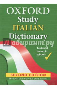 Oxford Study Italian DictionaryСловари на иностранном языке<br>This dictionary is up to date and easy to use and it will take you from the first day you start learning Italian right through to your exams and beyond. With core curriculum and international vocabulary, clear guidance on usage and grammar, and a section on everyday life and culture, it is the perfect dictionary for all students of Italian.<br>