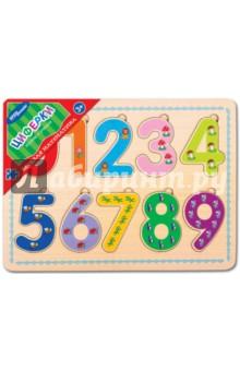 Игра из дерева Веселая математика. Циферки (89208)Развивающие рамки<br>Игра настольная развивающая из дерева.<br>Состав: рамка-основа, 8 деталей.<br>Содержит мелкие детали<br>Сделано в России.<br>