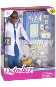 Набор Кукла-Ветеринар (мальчик) (8347d)Куклы<br>Материал: пластмасса, текстильные материалы.<br>Не рекомендуется детям до 3 лет.<br>Сделано в Китае.<br>