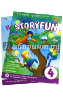 Storyfun for Starters,Mov.and Flyers2ED Movers2 SBИзучение иностранного языка<br>Enjoyable and engaging practice for the revised 2018 Cambridge English: Young Learners (YLE). <br><br>Storyfun Level 4 Student s Book provides full-colour preparation material for Cambridge English: Movers. It contains eight fully-illustrated stories with accompanying activities for students to enjoy. These include songs and exam-style questions that practise the grammar, vocabulary and skills needed at each level. Extra speaking practice and projects provide opportunities for extension beyond the units. The Student s Book now comes with a Home Fun Booklet which provides activities for students to complete at home, and allows parents to support learning. Fun Online Activities in the Cambridge Learning Management System (CLMS) are accessed via a code in the front of the book.<br>