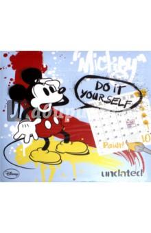 2018 Календарь Mickey Mouse 30 *30 (PGP-2750)Настенные календари<br>Календарь на 2018 год, настенный, ежемесячный.<br>Бумага офсетная.<br>Формат: 300х300 мм.<br>Крепление: скрепка. <br>Количество листов: 12.<br>Содержит черно-белые иллюстрации + набор цветных карандашей.<br>