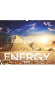 2018 Календарь Energy 48*46 (PGN-5001)Настенные календари<br>Календарь на 2018 год, настенный, ежемесячный.<br>Бумага мелованная, обложка глянцевая.<br>Формат: 480х460 мм.<br>Крепление: спираль. <br>Количество листов: 12.<br>Верхняя половина - фотография, нижняя половина - календарный месяц.<br>Сделано в Чехии.<br>