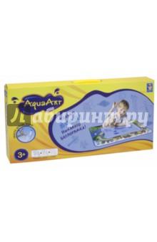 Коврик для рисования водой AquaArt (розовый) (Т59441)Другие виды творчества<br>Игровой набор для детского творчества: коврик для рисования водой, водный маркер.<br>Размер коврика: 72х51см.<br>Материал коврика: нейлон 100%, наполнитель: губка, полиэтиленвинилацетат (PEVA). Материал водного маркера: пластмасса.<br>Не рекомендуется детям до 3 лет.<br>Сделано в Китае.<br>