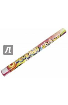 Пневмохлопушка праздничная 60 см (серпантин+конфетти)(75880)Праздничные акссесуары<br>Праздничная пневмохлопушка на основе сжатого воздуха с наполнителем из  разноцветного конфетти из ПВХ и серпантина из бумаги <br>Размер: 60 см<br>Сделано в Китае<br>