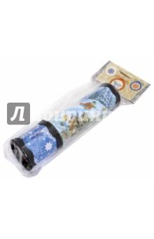Калейдоскоп Елка (75709)Оптические игрушки<br>Игрушка детская - Калейдоскоп из плотного картона и полистирола с внутренними элементами из ЭВА, ПЭТ / 20x5.6 <br>Сделано в Китае.<br>