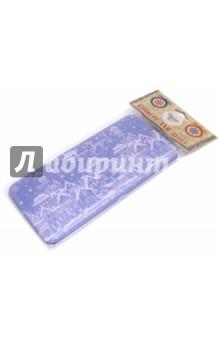 Коробочка для денег Заснеженный город (76338)Конверты для денег<br>Коробочка подарочная для денег.<br>Размер 16,6 х 7,6 х 1 см.<br>Материал: черный окрашенный металл.<br>Упаковка: пакет с подвесом.<br>Сделано в Китае.<br>