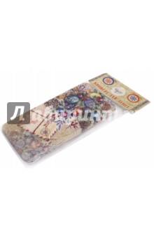 Коробочка для денег Еловый букет (76336)Конверты для денег<br>Коробочка подарочная для денег.<br>Размер 16,6 х 7,6 х 1 см.<br>Материал: черный окрашенный металл.<br>Упаковка: пакет с подвесом.<br>Сделано в Китае.<br>