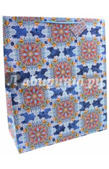 Пакет бумажный 40.6х48.9х19см Калейдоскоп (75334)Подарочные пакеты<br>Бумажный пакет Яркий калейдоскоп для сувенирной продукции , с ламинацией, с шириной основания 40,6 см, плотность бумаги 157 г/м2 / 40.6х48.9х19см.<br>