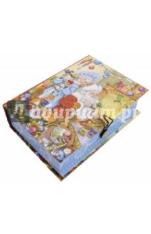 Коробка подарочная Внучка Деда Мороза (75041)Другое<br>Коробка подарочная.  <br>Материал: мелованного, ламинированного, негофрированного картона плотностью 1100 г/м2<br>Полноцветный декоративный рисунок на внутренней и наружной части<br>Размер 20 х 14 х 6 см.<br>Сделано в Китае.<br>