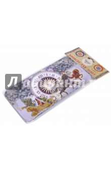 Коробочка для денег Новогодние часы (76349)Конверты для денег<br>Коробочка подарочная для денег.<br>Размер 16,6 х 7,6 х 1 см.<br>Материал: черный окрашенный металл.<br>Упаковка: пакет с подвесом.<br>Сделано в Китае.<br>