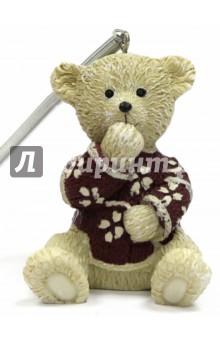Украшение ёлочное Мишка (41969)Новогодние сувениры<br>Украшение новогоднее подвесное.<br>Размер: 5х4,5х6 см.<br>Материал: полирезина<br>Сделано в Китае.<br>