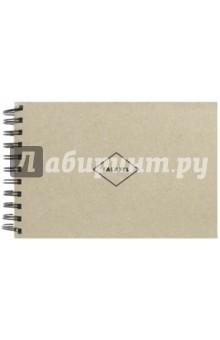 Скетчбук Grey Crarft paper (крафт-бумага, 50 листов, А5) (440961)Блокноты (нестандартный формат)<br>Скетчбуки с крафтовой бумагой.<br>50 листов без линовки, плотная неотбеленная эскизная бумага 200 г/м2.<br>Крепление на большую черную пружину. <br>Лицевая и задняя обложка (подложка) выполнена из очень плотного переплетного картона серого цвета толщиной 2,5мм (1575 г/м2).<br>Собрано вручную в Москве.<br>