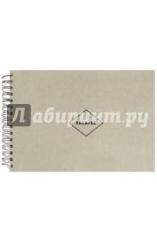 Скетчбук (50 листов, А 4, гребень, крафт-бумага) (440962)