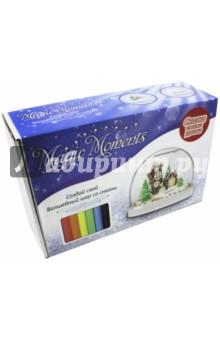 Набор Волшебный шар со снегом Домики (mm-3)Новогодние сувениры<br>Создай свой неповторимый сувенир! Слепите композицию и поместите ее внутрь шара. Добавьте блестки и специальную жидкость, и ваш снежный шар готов. Встряхните его и понаблюдайте, как маленькие снежинки медленно кружатся внутри. Это настоящее волшебство!<br>В наборе: сферическая форма для изготовления сувенира, цветной пластилин, доска для лепки, глицерин, цветные блестки, инструкция. <br>Упаковка: картонная коробка.<br>Для детей от 14 лет.<br>Сделано в России.<br>