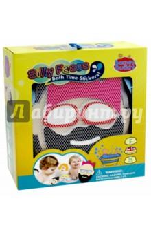 Стикеры для ванны Смешные лица (BB007)Игрушки для ванной<br>Игрушки - предметы игрового обихода, в том числе предназначенных для игры в ванной, в комплектах с отдельными предметами, без механизмов.<br>Для детей от 3-х лет. <br>Сделано в Китае.<br>