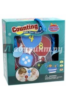 Стикеры для ванны Учимся считать (BB010)Игрушки для ванной<br>Игрушки - предметы игрового обихода, в том числе предназначенных для игры в ванной, в комплектах с отдельными предметами, без механизмов.<br>Для детей от 3-х лет. <br>Сделано в Китае.<br>