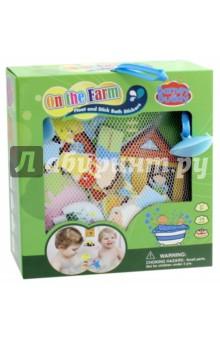 Стикеры для ванны Веселая ферма (BB012)Игрушки для ванной<br>Игрушки - предметы игрового обихода, в том числе предназначенных для игры в ванной, в комплектах с отдельными предметами, без механизмов.<br>Для детей от 3-х лет. <br>Сделано в Китае.<br>