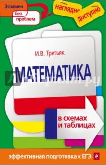 Математика в схемах и таблицахСправочники и сборники задач по математике<br>В издании в сжатой, концентрированной форме приводится основной теоретический материал, охватывающий школьный курс математики. Термины, определения, формулы объединены в наглядные логические модули, позволяющие лучше понять и усвоить информацию. <br>Пособие окажет учащимся существенную помощь в подготовке к единому государственному экзамену по математике.<br>