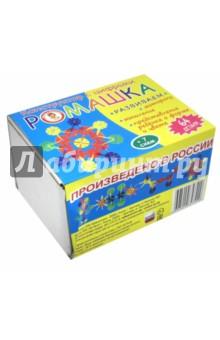 Конструктор Ромашка 64 деталиМозаика<br>Конструктор с цифрами Ромашка - игровой набор для детей, способствующий развитию их воображения, усидчивости, творческих и математических способностей, мелкой моторики и умению работать по предложенной схеме.<br>Детский конструктор Ромашка обязательно увлечёт ребёнка. В набор входят 64 разноцветные детали: красного, жёлтого, синего и зелёного цветов. На упаковке представлено несколько схем сборки конструктора, которые можно использовать в качестве образца.<br>Благодаря цифрам на каждой детали конструктора ребёнок сможет изучить цифры и знаки, а также научится решать и составлять математические примеры.<br>Игрушка для детей старше 3-х лет из пластмассы (полипропилена) <br>Сделано в России.<br>