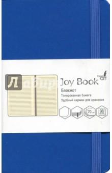 Блокнот Joy Book (96 листов, А6-, искусственная кожа, твердый переплет, синий) (БДБЛ6962238)Блокноты средние Линейка<br>Блокнот.<br>96 листов<br>Формат: А6-.<br>Блок: тонированный офсет, плотность 70г/м2.<br>Линовка: линия.<br>Крепление: книжное (прошивка).<br>Твердый переплет из искусственной кожи.<br>Скругленные уголки, ляссе, удобный карман для хранения, закрывается на резинку.<br>Сделано в Китае.<br>