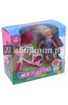 Кукла с велосипедом и аксессуарами (MX0111310)Куклы<br>Изготовлено из полимерных материалов с элементами текстильных материалов. Не рекомендуется детям до 3-х лет.<br>Сделано в Китае.<br>